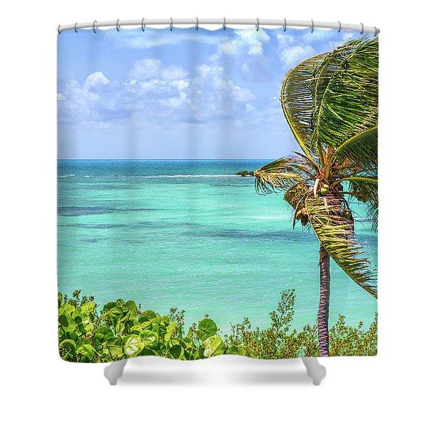 Bahia Honda State Park Atlantic View Shower Curtain