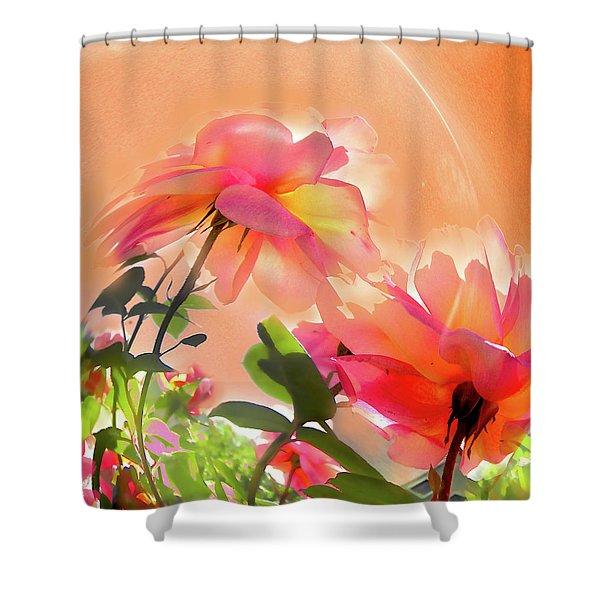 Baile Floral Shower Curtain