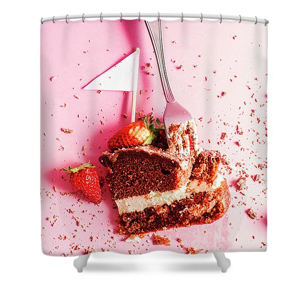 Bakers Downfall Shower Curtain