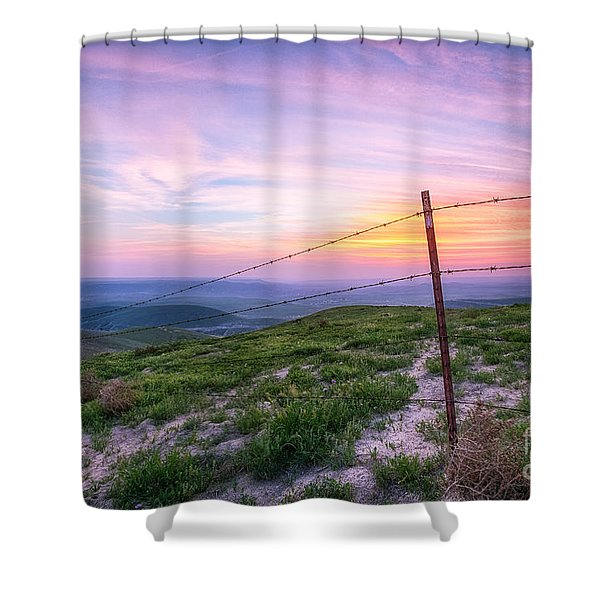Bakersfield Hills  Shower Curtain