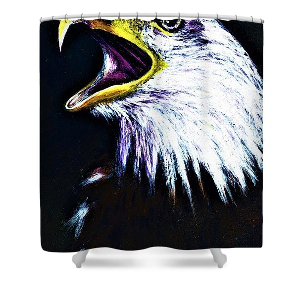 Bald Eagle - Francis -audubon Shower Curtain