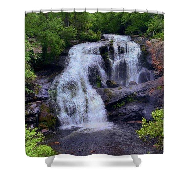 Bald River Falls, Tenn. Shower Curtain
