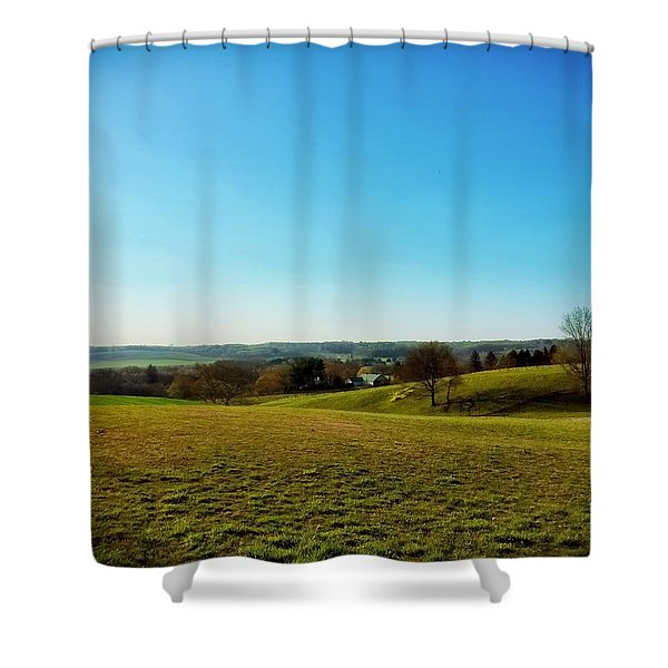 Baldwin Maryland Shower Curtain
