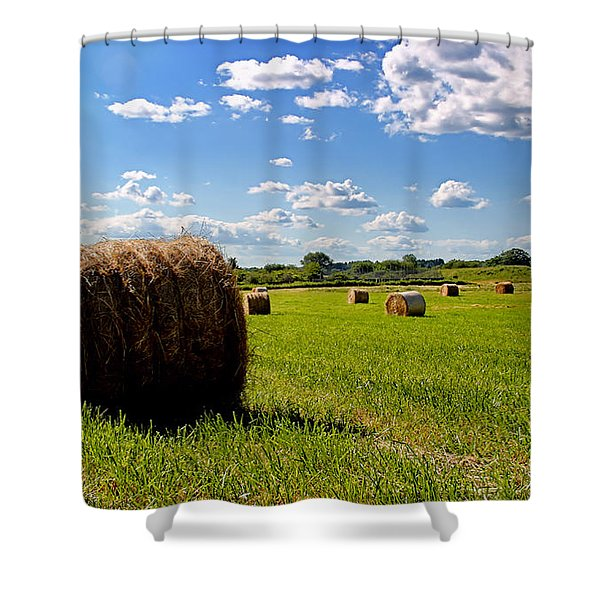 Bales Of Clouds Shower Curtain