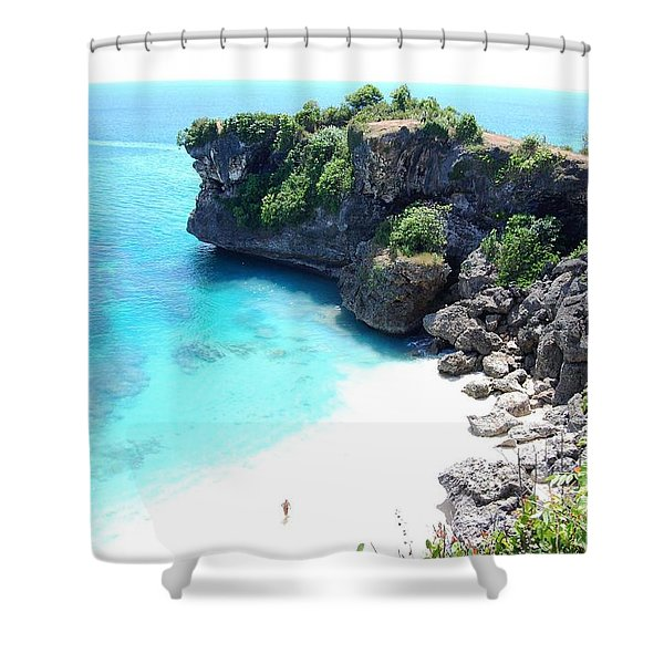 Bali Beach Shower Curtain