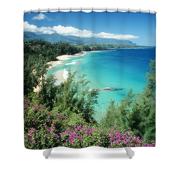 Bali Hai Beach Shower Curtain