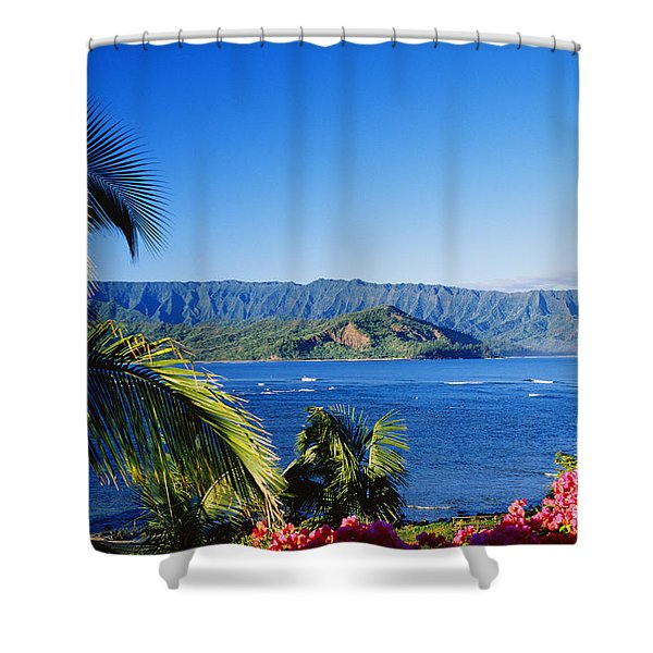 Bali Hai Shower Curtain