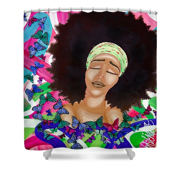 Balinda Shower Curtain