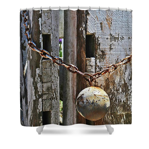 Ball And Chain Shower Curtain