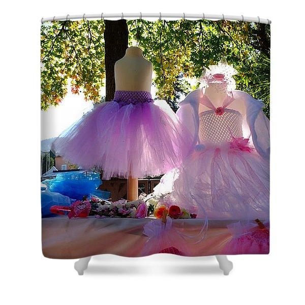Ballerina Dresses Shower Curtain