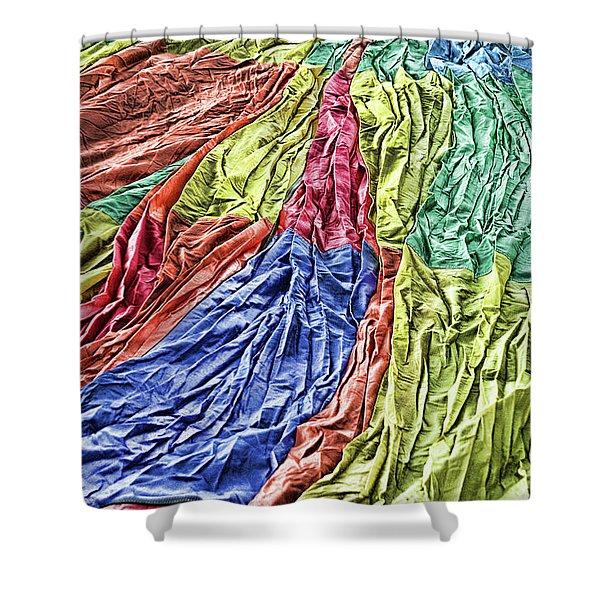 Balloon Abstract 1 Shower Curtain