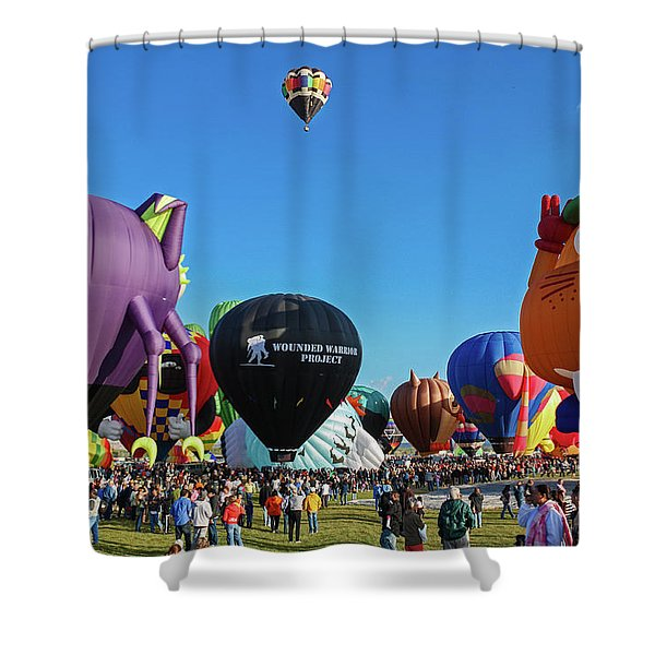 Balloon Fiesta Albuquerque I Shower Curtain