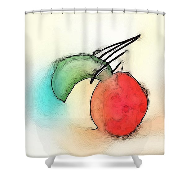 Baloons Shower Curtain