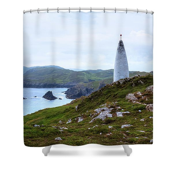 Baltimore Beacon - Ireland Shower Curtain