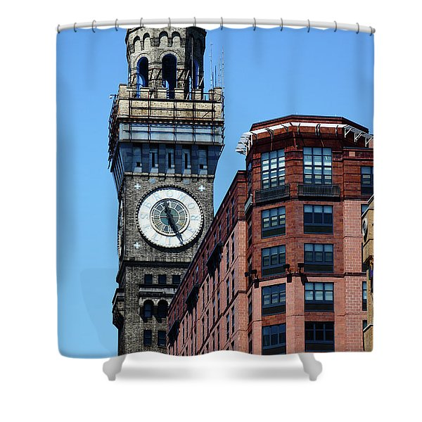 Baltimore Bromo Seltzer Tower Shower Curtain
