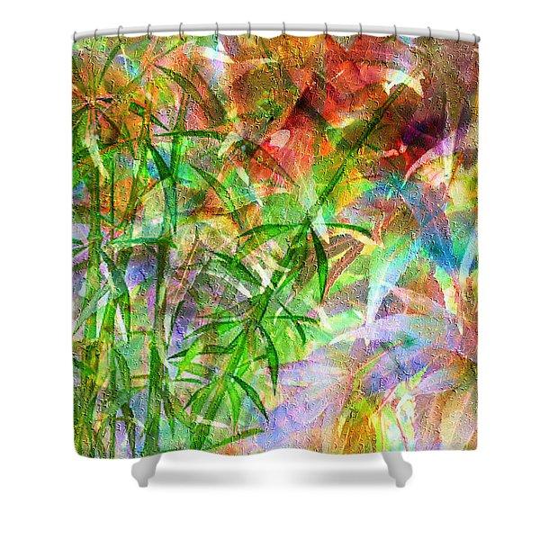 Bamboo Paradise Shower Curtain