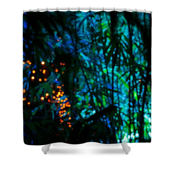 Bamboo Riot Shower Curtain