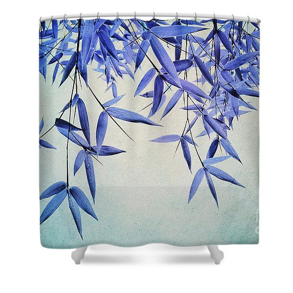 Bamboo Susurration Shower Curtain
