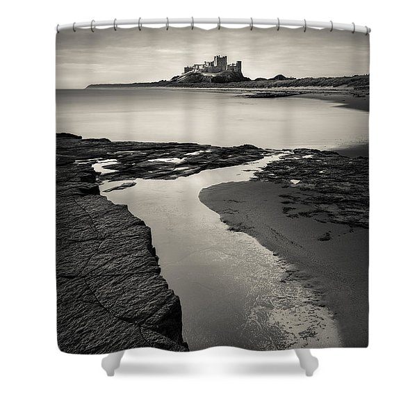 Bamburgh Castle Shower Curtain