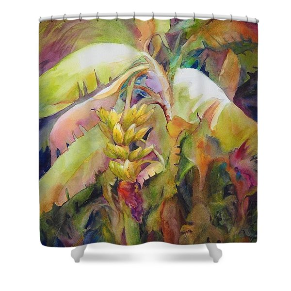 Banana Bay I Shower Curtain