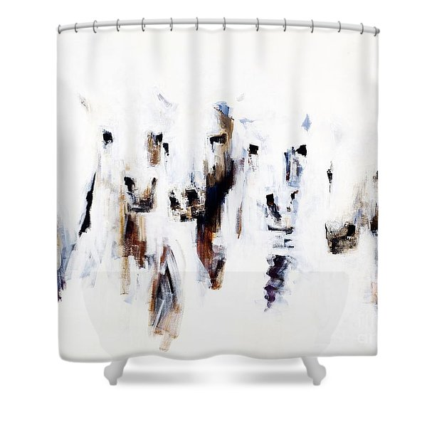 Band On The Run Shower Curtain