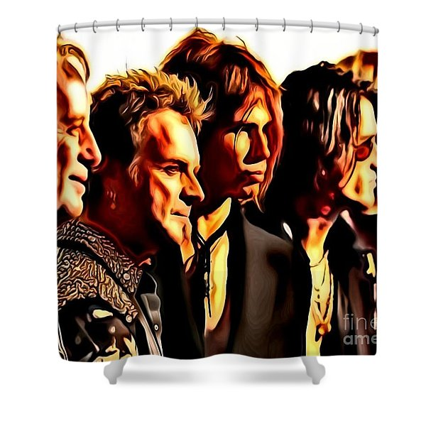 Band Who Shower Curtain
