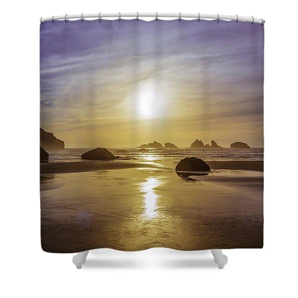 Bandon Glow Shower Curtain