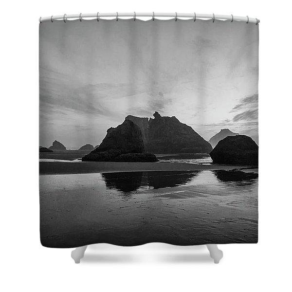 Bandon Pillars Shower Curtain