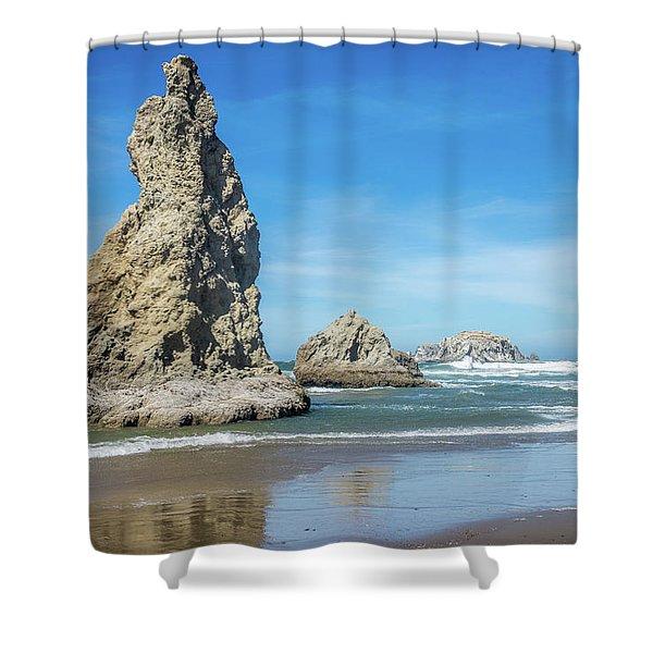 Bandon Rocks Shower Curtain