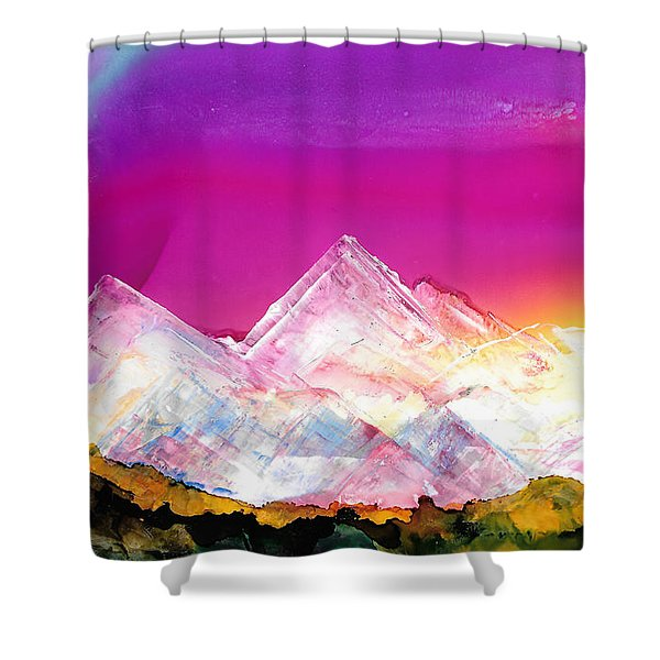 Banff At Dusk Shower Curtain