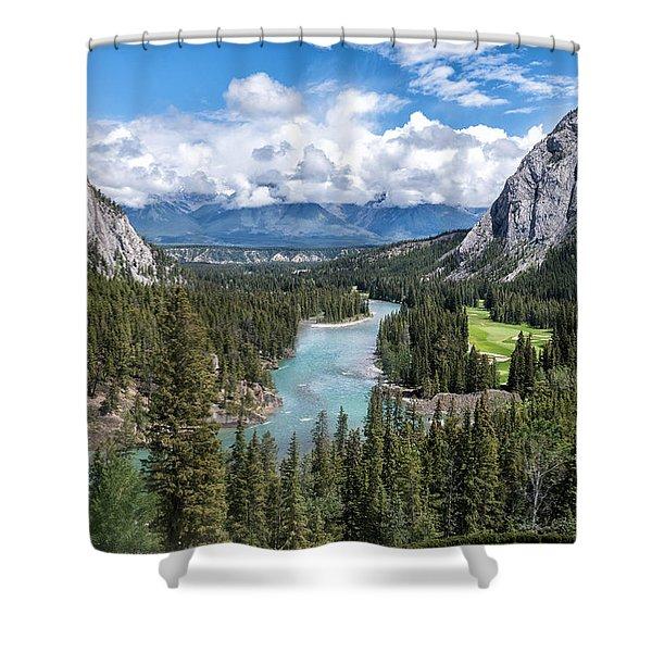 Banff - Golf Course Shower Curtain