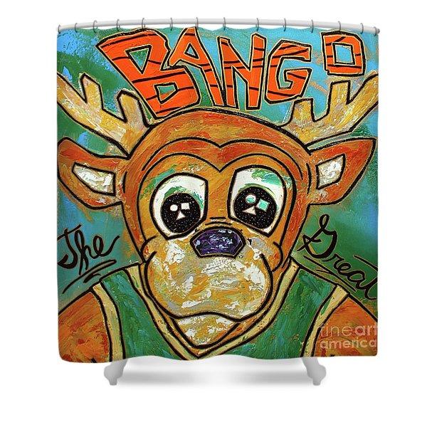 Bango The Great Shower Curtain