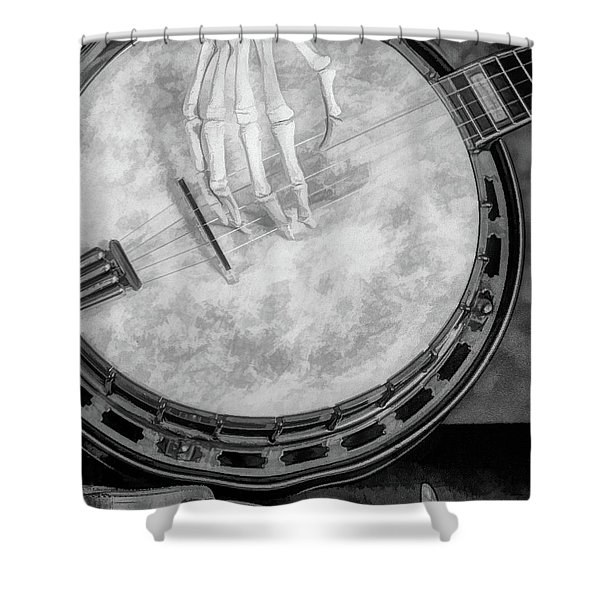 Banjo Addiction Shower Curtain