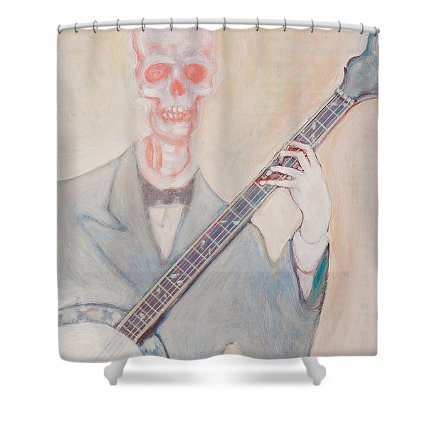 Banjo Bones Shower Curtain