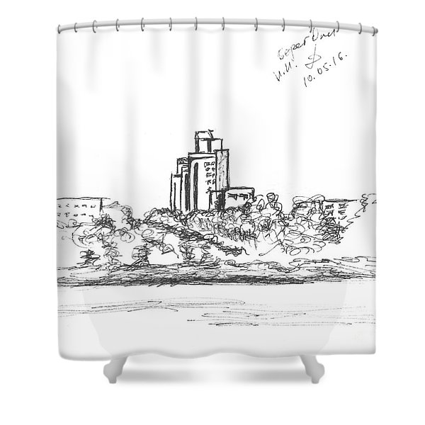 Bank Of The River Oka. 10 May, 2016 Shower Curtain