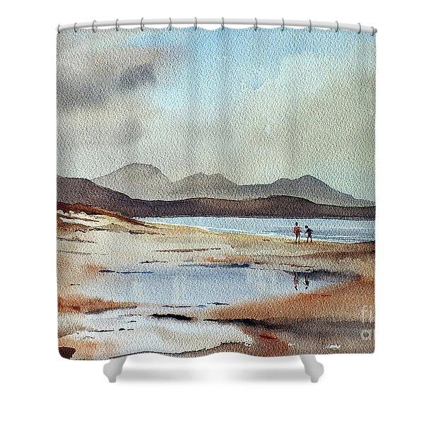 Banna Strand, Kerry...dscfo510 Shower Curtain