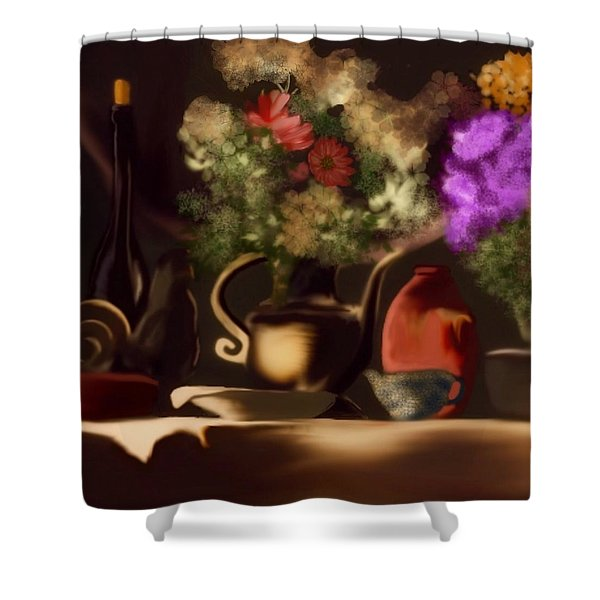 Banquet  Shower Curtain