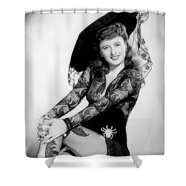 Barbara Stanwyck Shower Curtain