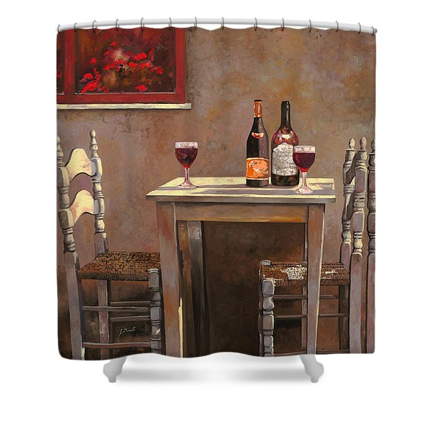 Barbaresco Shower Curtain