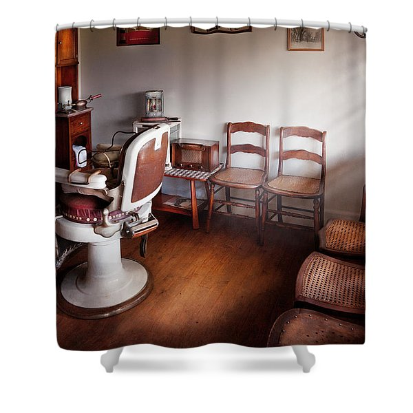 Barber - Ready For An Audience Shower Curtain