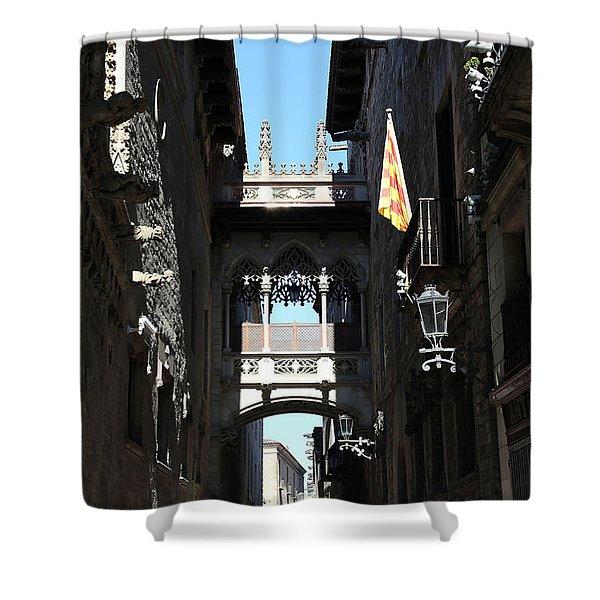 Barcelona 1 Shower Curtain