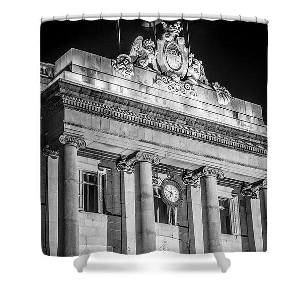 Barcelona City Hall Shower Curtain