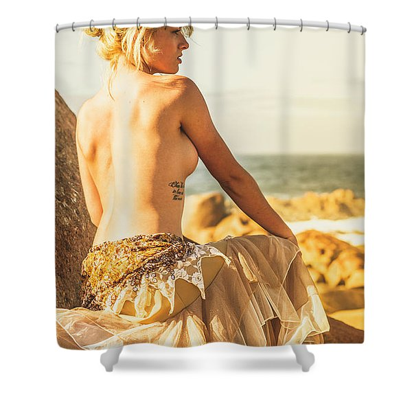 Bare Elegance Shower Curtain