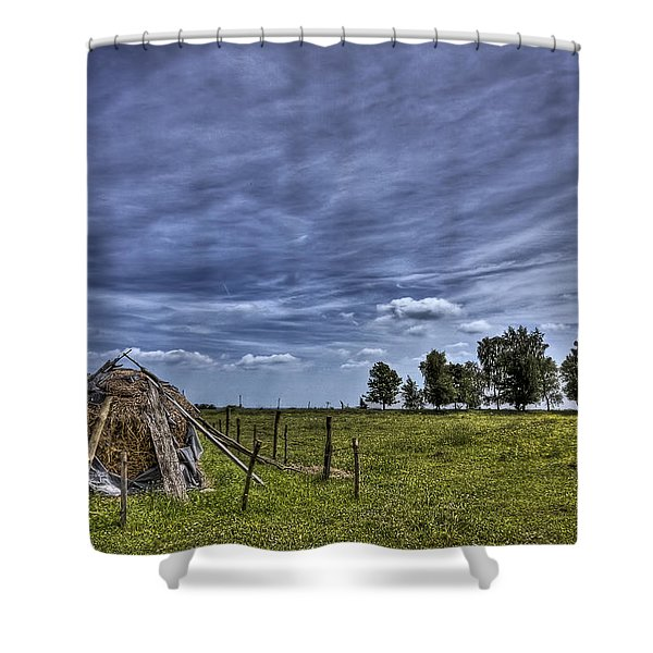 Barefoot Country Shower Curtain
