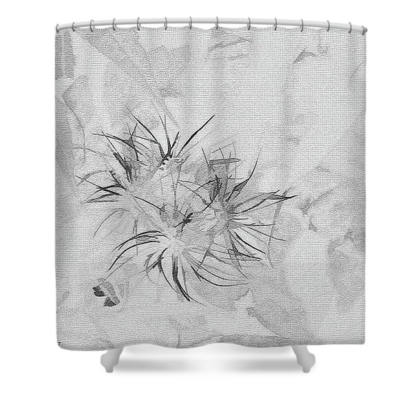 Barely There Shower Curtain