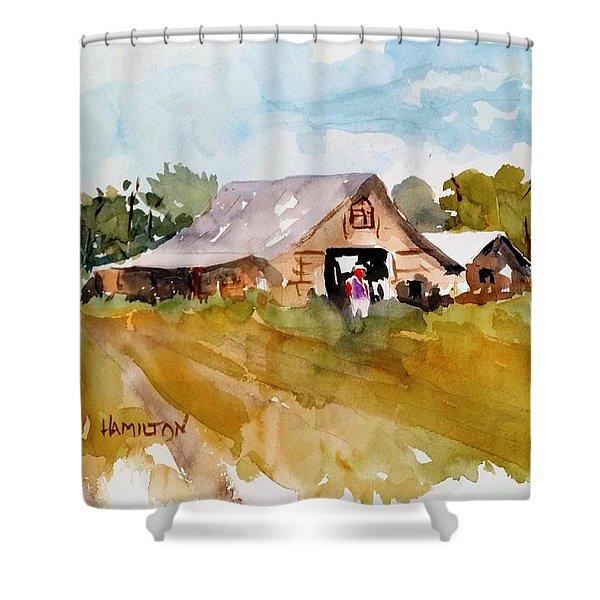 Barn # 2 Shower Curtain