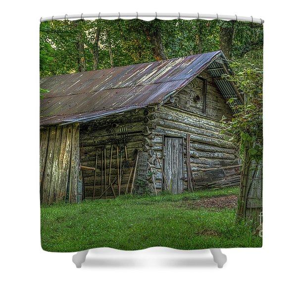 Barn At Artist Point Shower Curtain