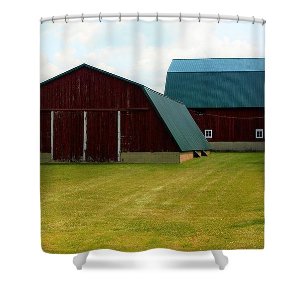 0004 - Barn Brothers Shower Curtain