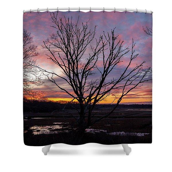 Barn Island - Pawcatuck Ct Shower Curtain
