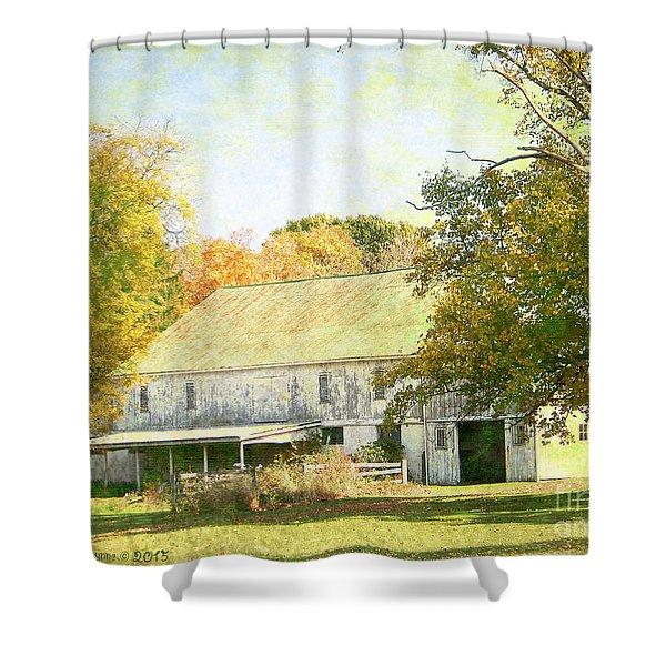 Barn Still Standing Shower Curtain